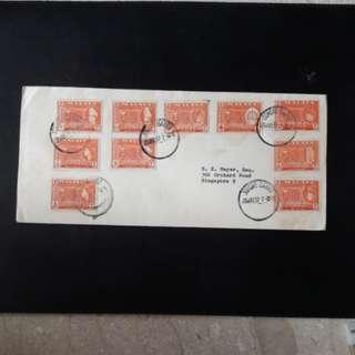 Malaya 1957 Stamps