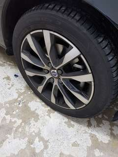 Original Volvo Rims and wheels for sale