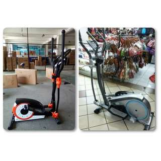 Sepeda Statis Treadmill Elliptical Trainer Exercise Bike Multi Fitness