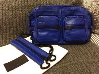 Alexander Wang Shoulder Bag (Blue Brenda Chain)