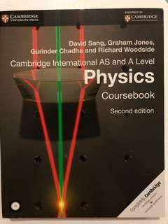 Cambridge International AS and A Level Physics Coursebook - Second Edition