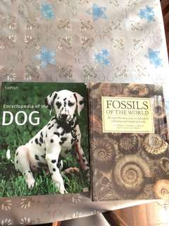 Encyclopaedia of dogs and fossils of the world