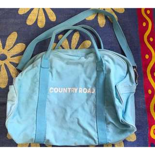 Light Blue Country Road Bag