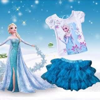 冰雪澎澎裙套裝