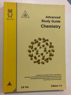 Advanced Study Guide Chemistry - Edition 1.0