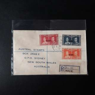 New Zealand 1937 Pte First Day Cover