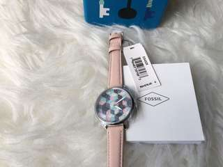 Fossil watch nude sand