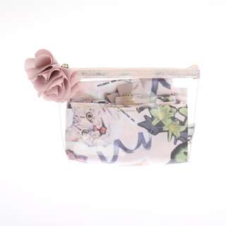 [PO] Afternoon Tea Cat's NapTime Compact Bag with Pouch