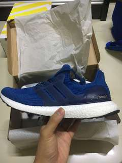 Adidas Ultra Boost Blue Caged