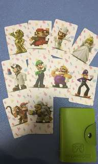 Nintendo switch mario odyssey nfc card