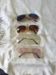 Aviator specs and shades