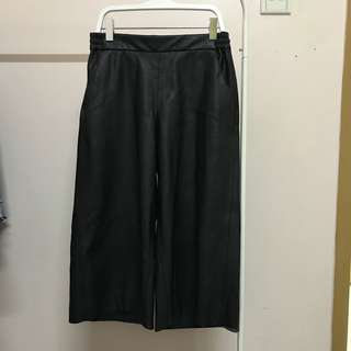 H&M Black Leather Pants