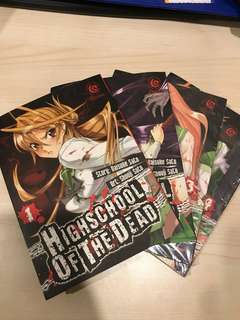 Komik highschool of the dead 1-4