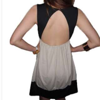 BN ASOS Inspired Back Cut Out Dress