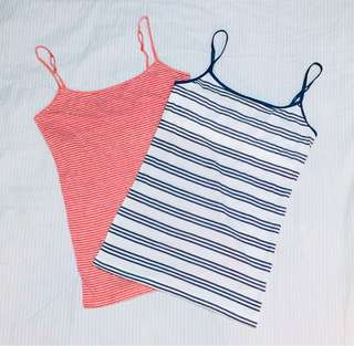 Aeropostale Striped Camis