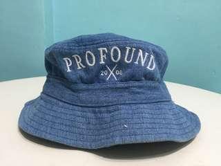 PROFOUND denim bucket hat