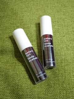 Watery Tint The Face Shop / lip tint / lipstik