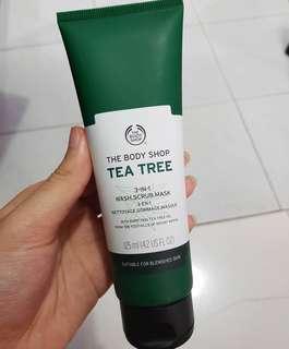 TBS Tea Tree 3in1 Wash.Scrub.Mask