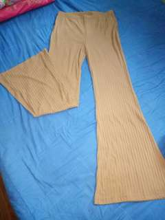 F21 pants long knitted