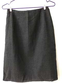 formal skirt (grey)