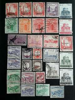 Pakistan vintage stamps