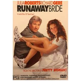 DVD - RUNAWAY BRIDE (ORIGINAL IMPORT CODE 4)