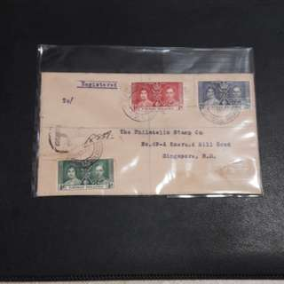 Cayman  Islands 1937 First Day Cover