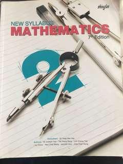 Shinglee New Syllabus Mathematics 7th Edition ( Secondary 2 )