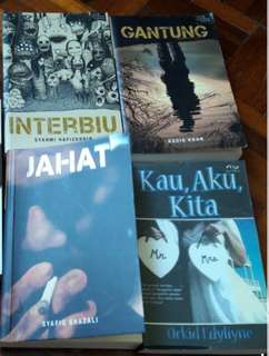 Fixi Books || Novel Kau,Aku,Kita