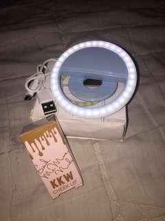 Selfie Ring light with Liptint