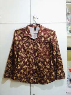 Crissa Long Sleeves Floral