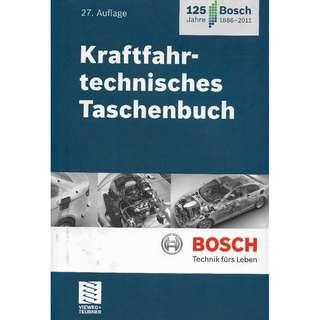 BOSCH Kraftfahrtechnisches Taschenbuch / 27. Auflage