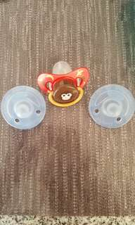 Avent soothing pacifier used