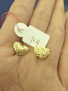 18k Gold Earrings