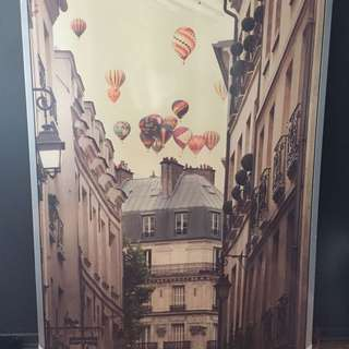 Large size Streets of Paris Artwork