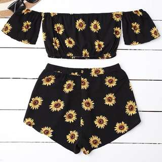 1 Set Sunflower