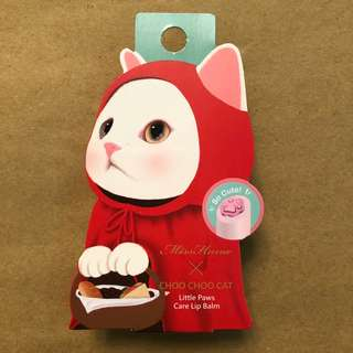 Miss Hana Choo Choo Cat Lip Balm