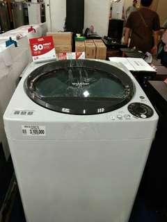 mesin cuci SHARP 9,5KG cicilan tnpa CC proses 3mwnit