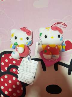 Sanrio Painting Hello kitty keychain