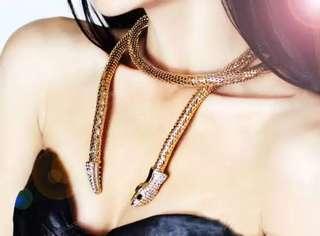 🚚 歐美蛇形項鍊《現貨》