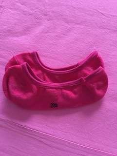 Pink boat sock