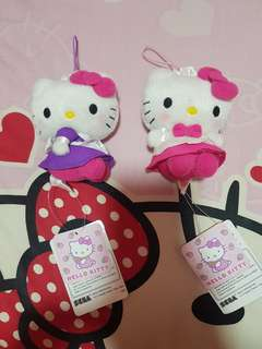 Sanrio Hello Kitty plush key chain