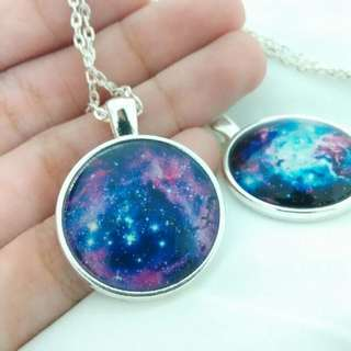 🎈Galaxy Pendant necklaces