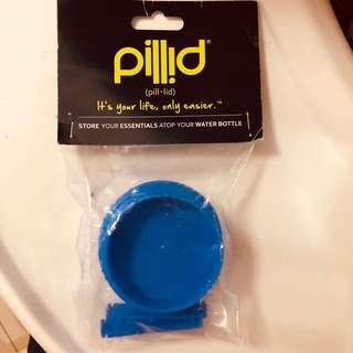 Nalgene Pillid (pill lid) Blue