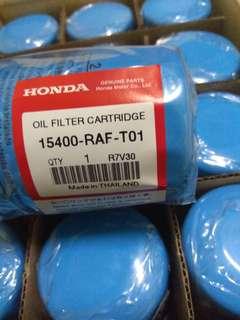 Honda oil filter
