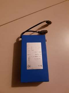 External battery 12v