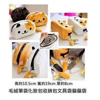 [預訂貨] 貓 貓貓 零錢包 散紙包 八達通包 收納包 雜物包 硬幣包 手機包 筆袋