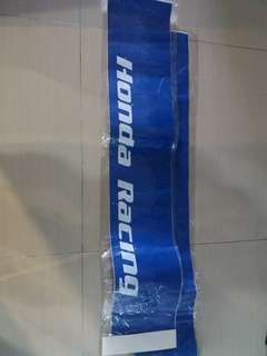 Honda Racing Windscreen Sticker