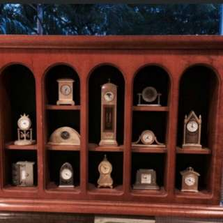 Miniature clock  collections