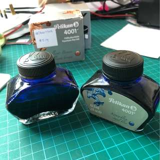 Fountain Pen Ink Pelikan 4001 Blue